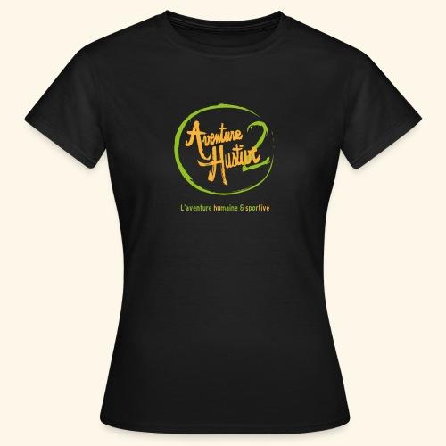 logo AventureHustive 2 - T-shirt Femme