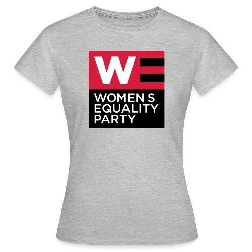 WE_LOGO_RED_CMYK - Women's T-Shirt