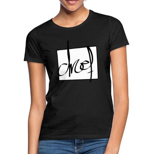 Droef.Gent logo zwart - Vrouwen T-shirt