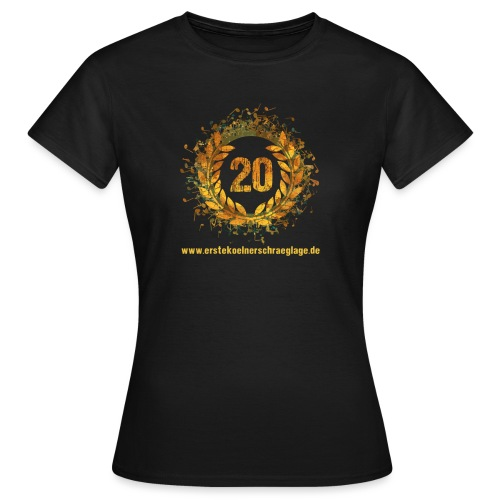 20 farbig freigestellt www png - Frauen T-Shirt