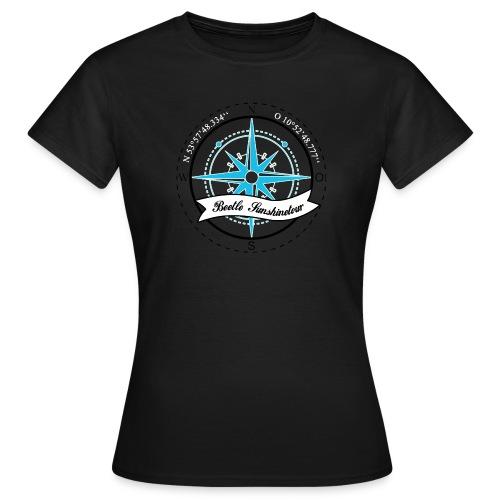 Beetle Sunshinetour AUf dem Linken arm NBC - Frauen T-Shirt