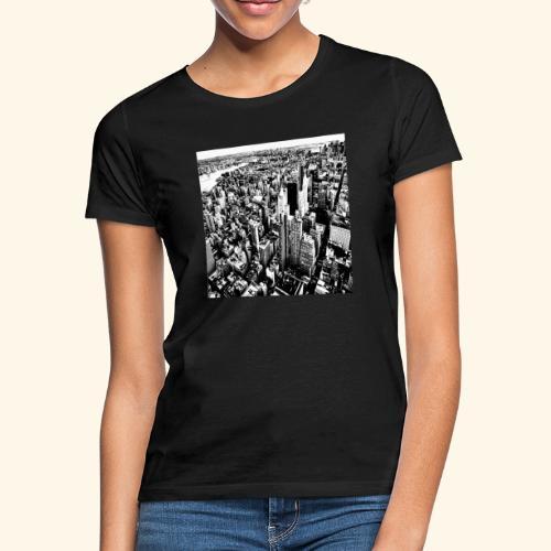 Manhattan in bianco e nero - Maglietta da donna