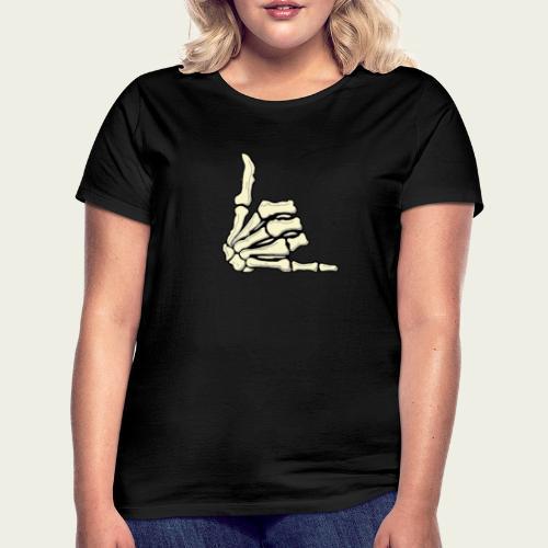 Skull hand wazaa - Camiseta mujer
