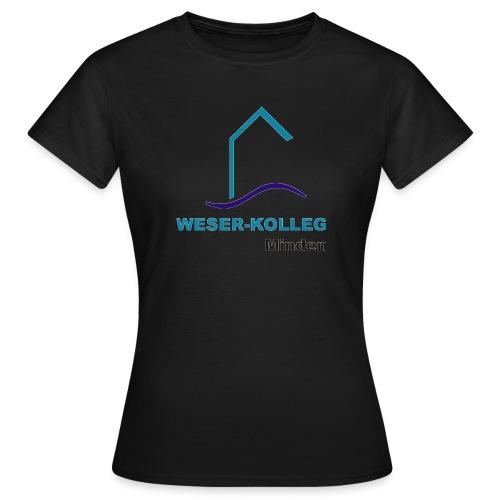 wkmlogooutline - Frauen T-Shirt