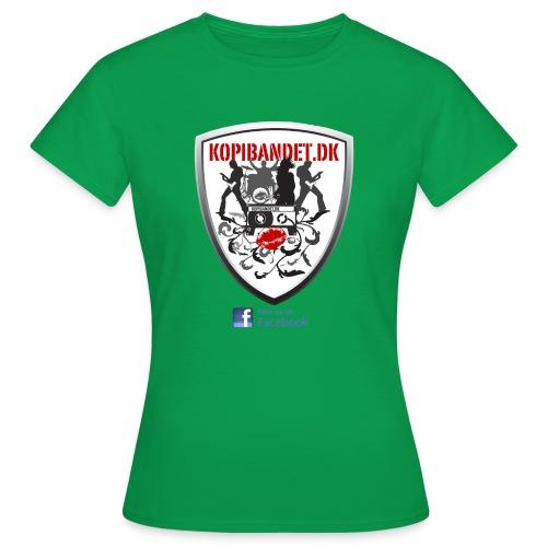 KopiBandet.DK find us on facebook - Dame-T-shirt