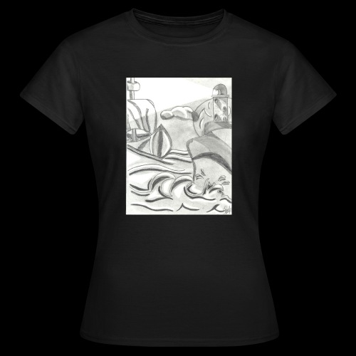 abstrack - Camiseta mujer