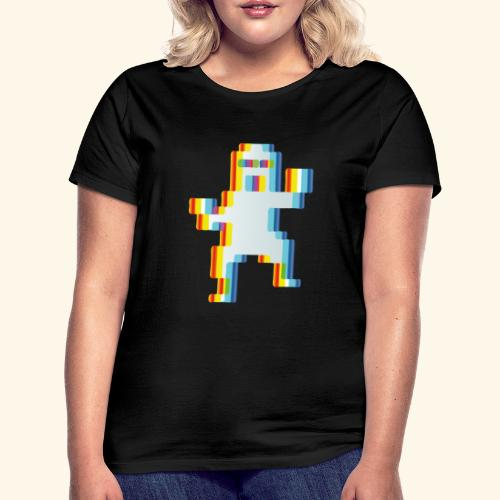 80's party glitch - Women's T-Shirt