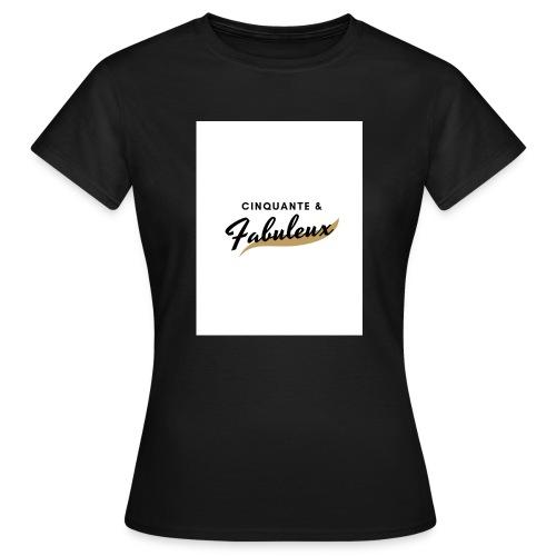 Cinquante - T-shirt Femme