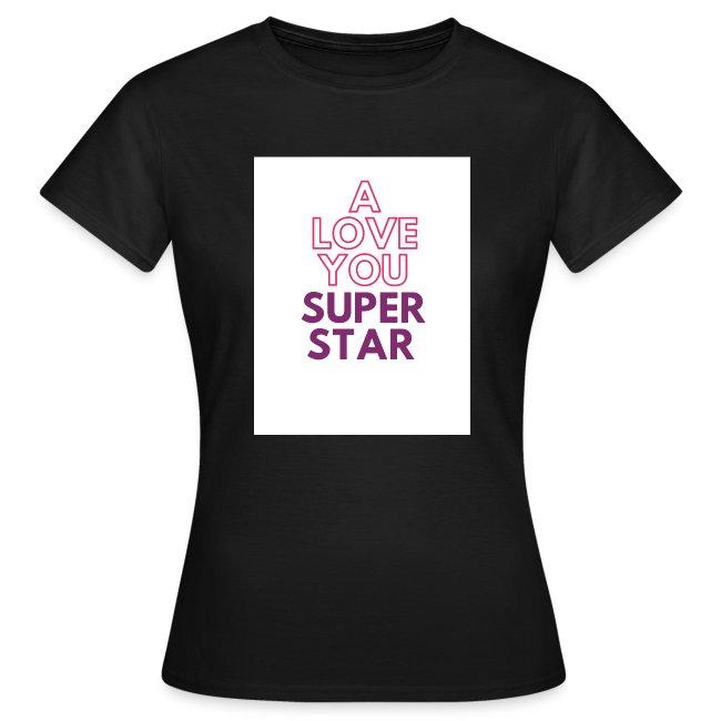 a love you super star