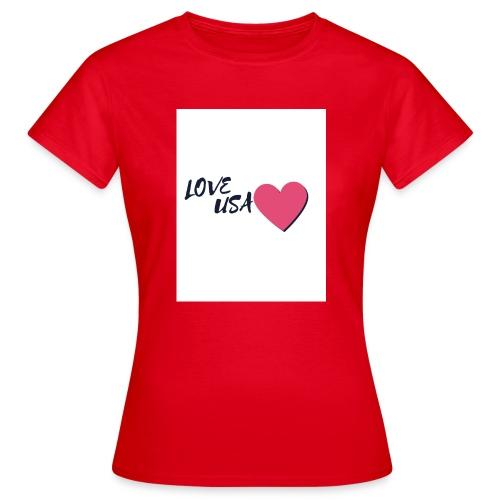 love usa - T-shirt Femme