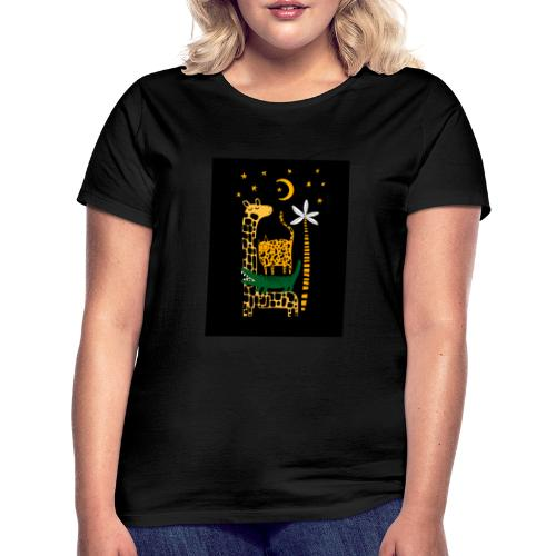 animals at night - Women's T-Shirt
