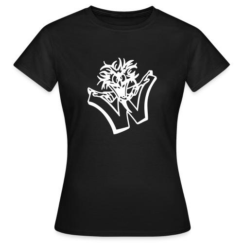 w wahnsinn - Vrouwen T-shirt