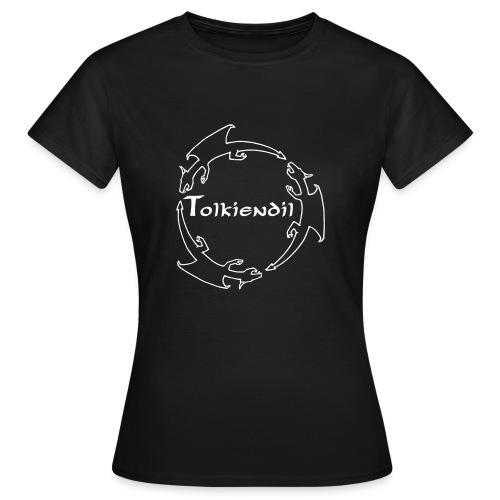 trois dragons tolkiendil forgottenuncial - T-shirt Femme
