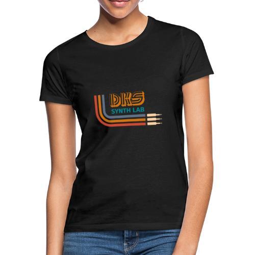 DKS SYNTH LAB curved Orange - Maglietta da donna