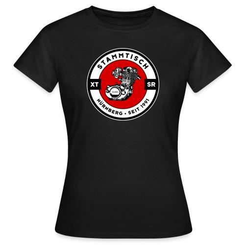 logo mit rand rgb - Frauen T-Shirt