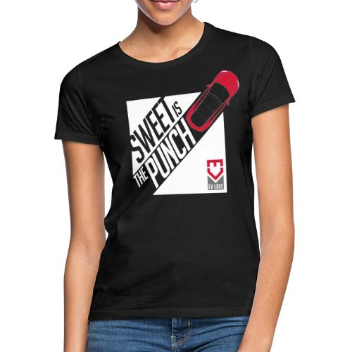 Sweet Is The Punch – Red Tesla - Frauen T-Shirt