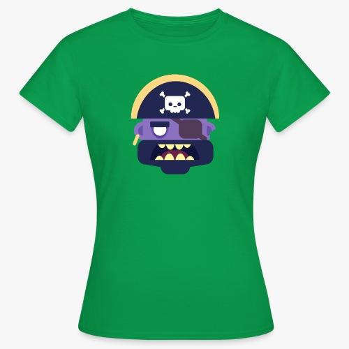 Mini Monsters - Captain Zed - Dame-T-shirt