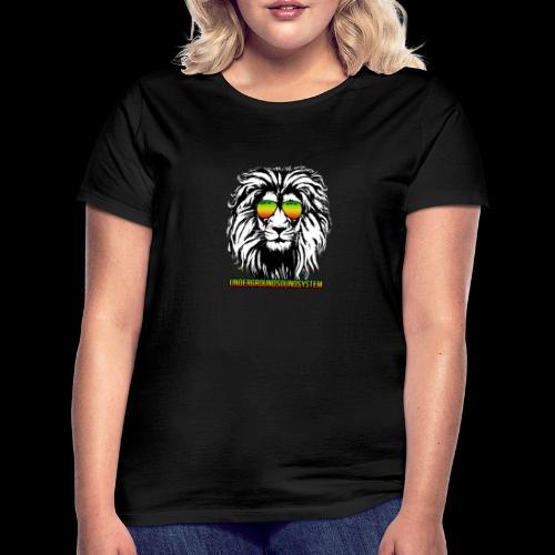 RASTA REGGAE LION - Frauen T-Shirt