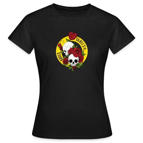 SKULL'S N ROSES - Camiseta mujer