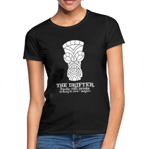 tshirt logo wit - Vrouwen T-shirt