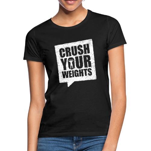 Fitshirt Crush - Vrouwen T-shirt