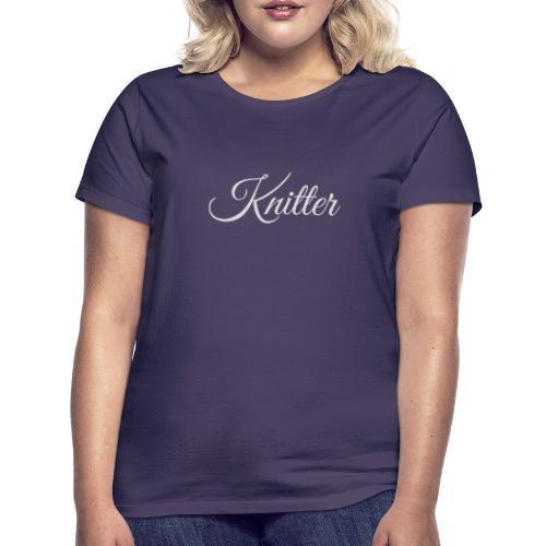 Knitter, light gray - Women's T-Shirt