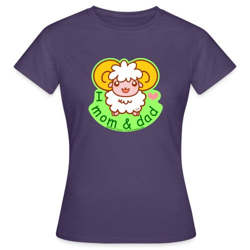 I Love Mom and Dad - Women's T-Shirt