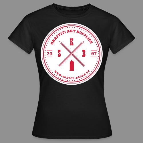 Sketch Books Logo (2C) - Frauen T-Shirt
