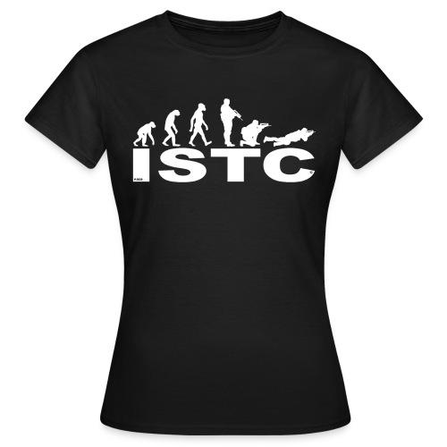 ISTC BLANC - T-shirt Femme