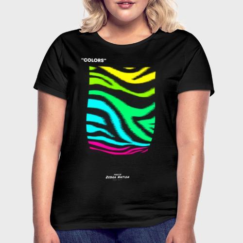Zebra Nation (Colors) 2019 Collection - Women's T-Shirt