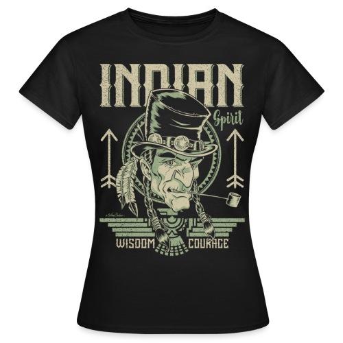 Espíritu indio - Camiseta mujer