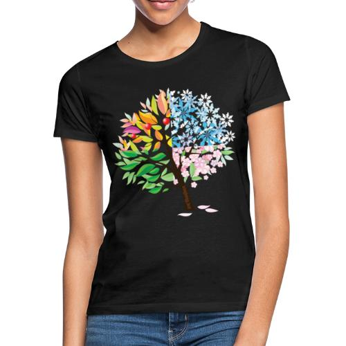 four seasons - Frauen T-Shirt