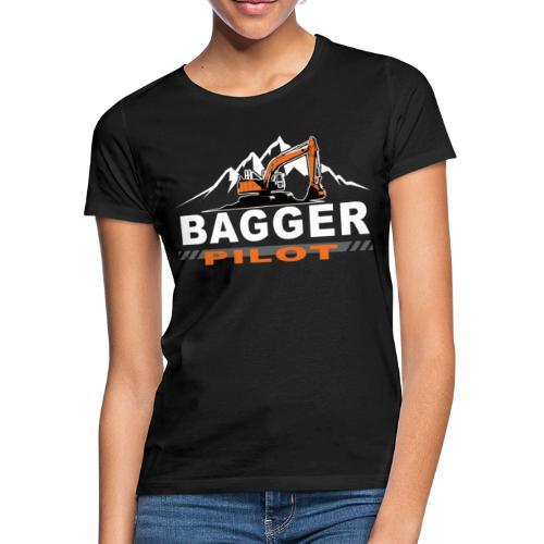 Bagger Pilot Baustelle Baumaschine - Frauen T-Shirt