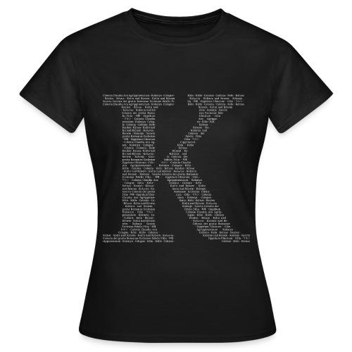K - Frauen T-Shirt
