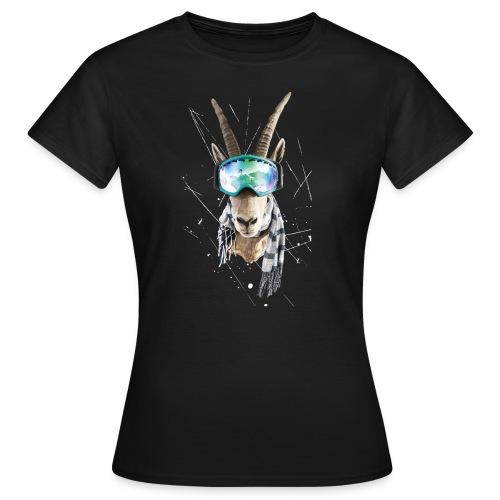 shirt druck weiß 01 01 png - Frauen T-Shirt