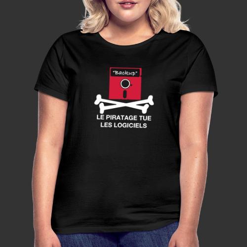 piratage - T-shirt Femme