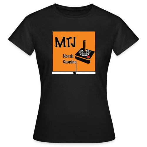 Mtj Logo - T-skjorte for kvinner