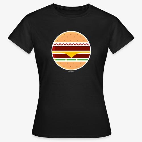 Circle Burger - Maglietta da donna