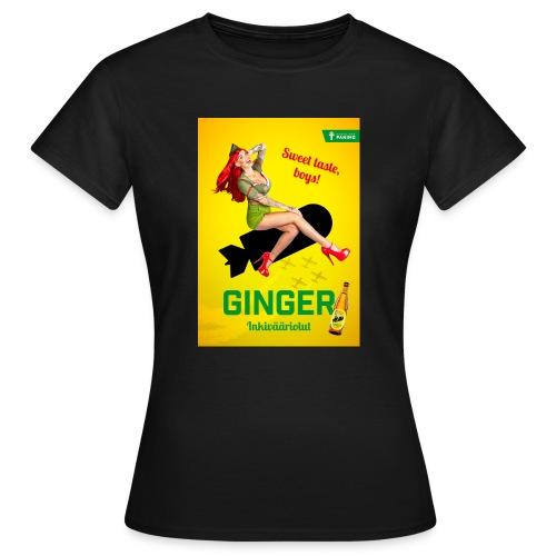 Ginger - Naisten t-paita