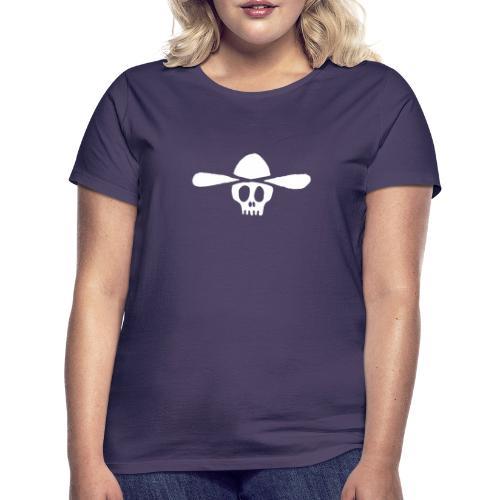 Totenkopf Kauboi - Frauen T-Shirt