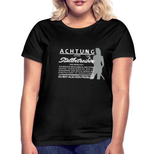 Stallbetreiber2 - Frauen T-Shirt