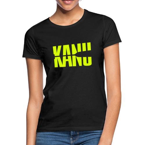 Kanu Kanute Wassersport Paddel 1c - Frauen T-Shirt