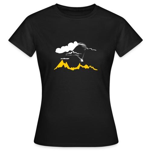 Libert'All Paramoteur et Nuage - T-shirt Femme