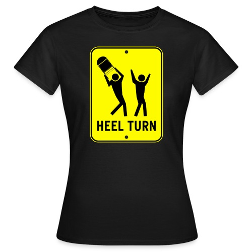 Heel Turn USA - Women's T-Shirt