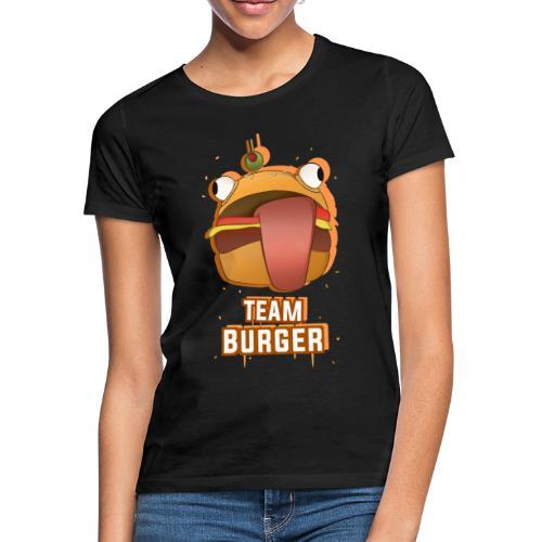 Team burguer - Camiseta mujer
