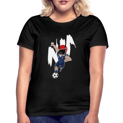 HYUGA JAPAN - COUPE DU MONDE - RUSSIE 2018 - T-shirt Femme