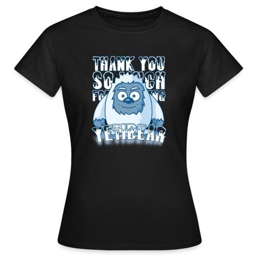 Yeti Design - Vrouwen T-shirt