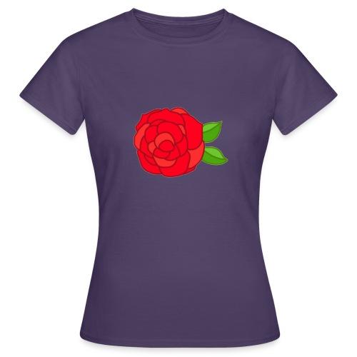 Róża - Koszulka damska