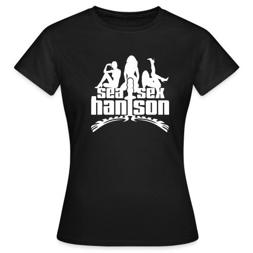 SSH 3femmes exe blanc - T-shirt Femme