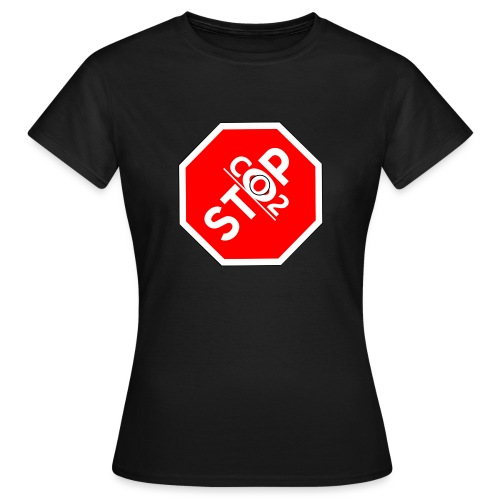 Co2-OuT! Stop Co2 - Frauen T-Shirt